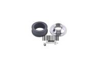 Kit Anel Carbono e Bucha de Inox Sea Doo RXP/RXT/GTX/GTR 04/18 295501174
