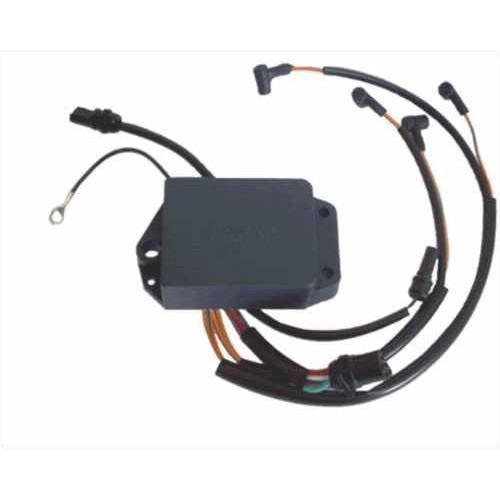 Caixa de Ignição para Motor de Popa Johnson/Envirude - 4 cilindros s/limita - 85hp/88hp/90hp/100hp/112hp/115hp. 90 a 98  - Radical Peças - Peças para Jet Ski