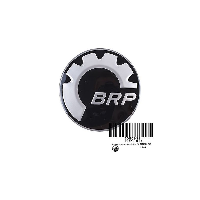 Adesivo Logo BRP para Jet Ski 48mm 219902468  - Radical Peças - Peças para Jet Ski