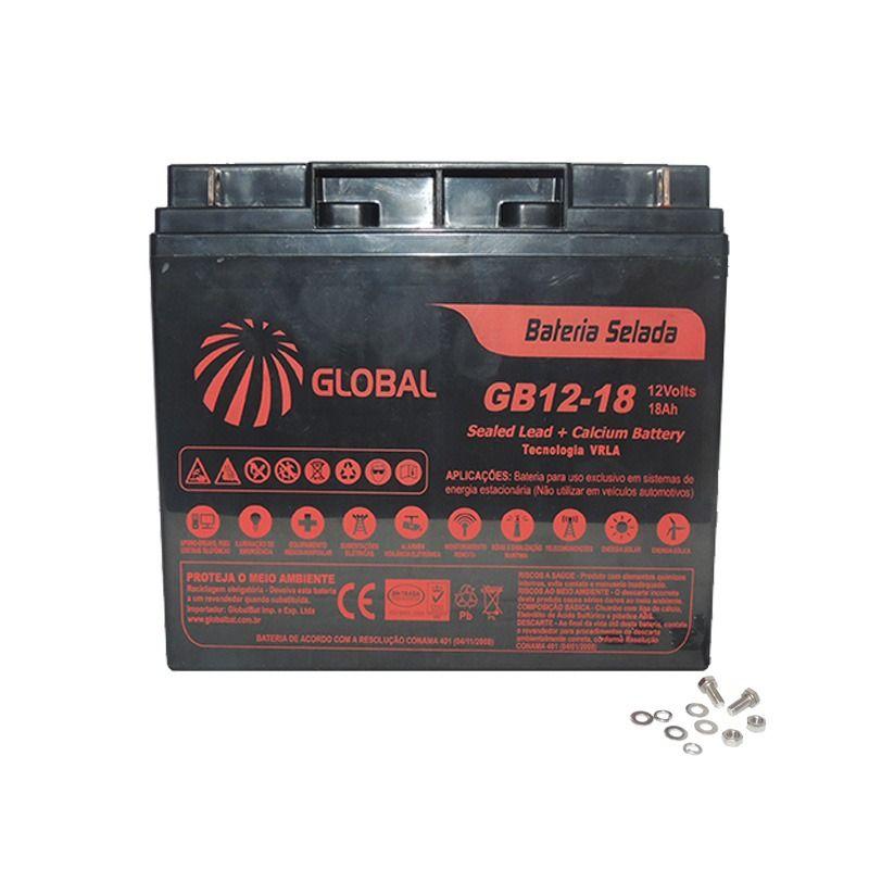 Bateria Global Selada 12v/18a Para Jet Ski Yamaha Todos  - Radical Peças - Peças para Jet Ski
