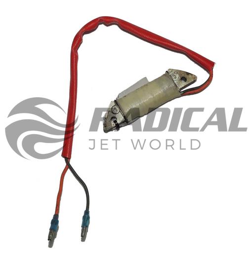 Bobina de carga p/ reposição do kit conversor p/ motor de popa yamaha 2 cilindros, 2 tempos de 8  - Radical Peças - Peças para Jet Ski