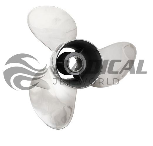 Hélice para Motor de Popa Solas 135 a 300 Bucha Cambeável  - Radical Peças - Peças para Jet Ski