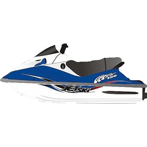 Kit Adesivo Jet Ski Kawasaki Ultra 2000  - Radical Peças - Peças para Jet Ski