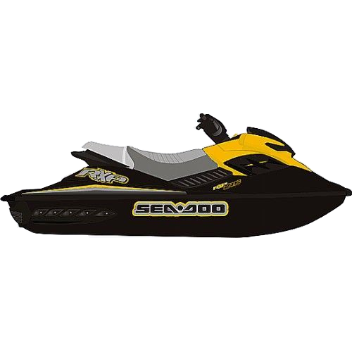 Kit Adesivo Jet Ski Sea Doo RXP 2007  - Radical Peças - Peças para Jet Ski