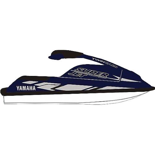 Kit Adesivo Jet Ski Yamaha Super Jet 1998  - Radical Peças - Peças para Jet Ski