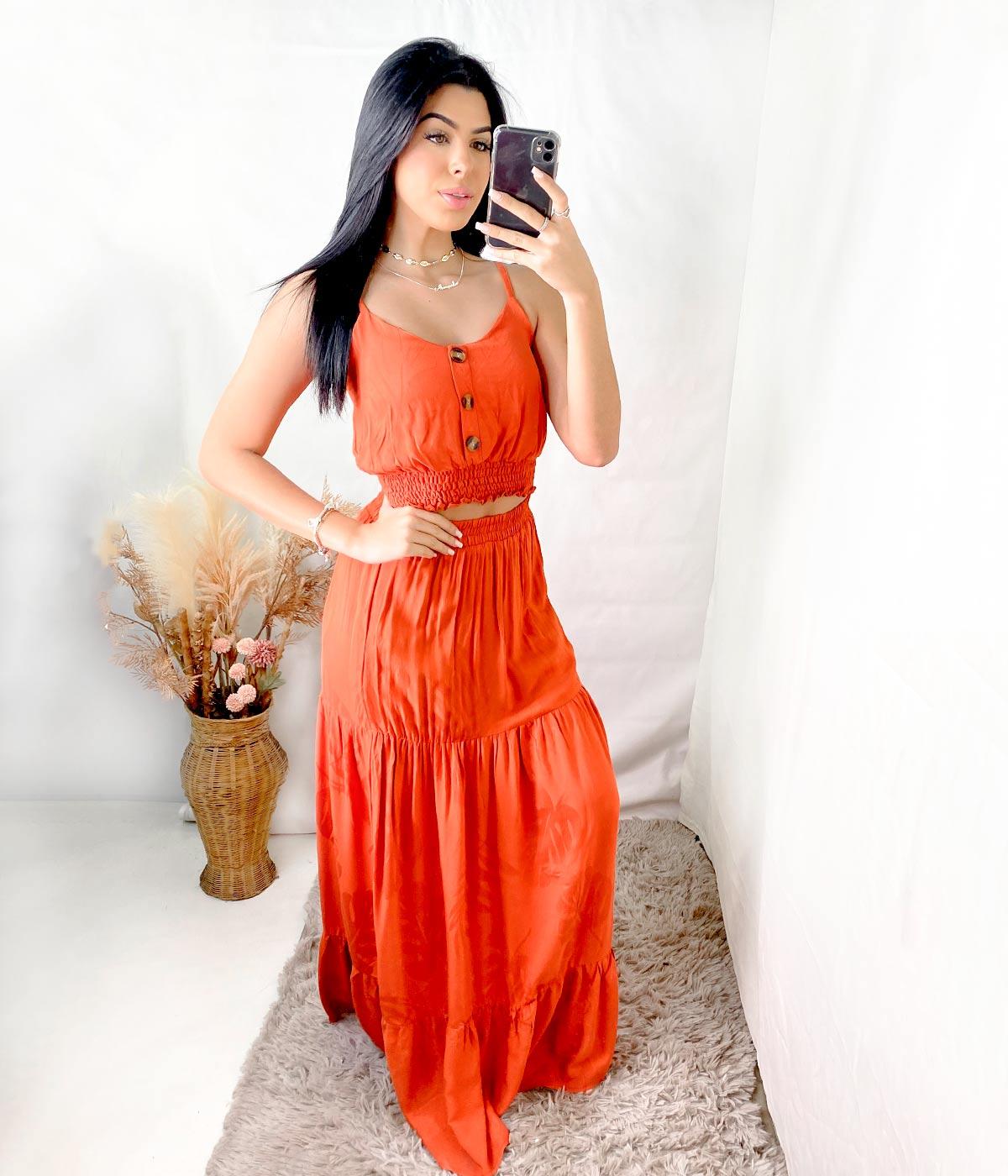 Conjunto Anna Júlia Terracota