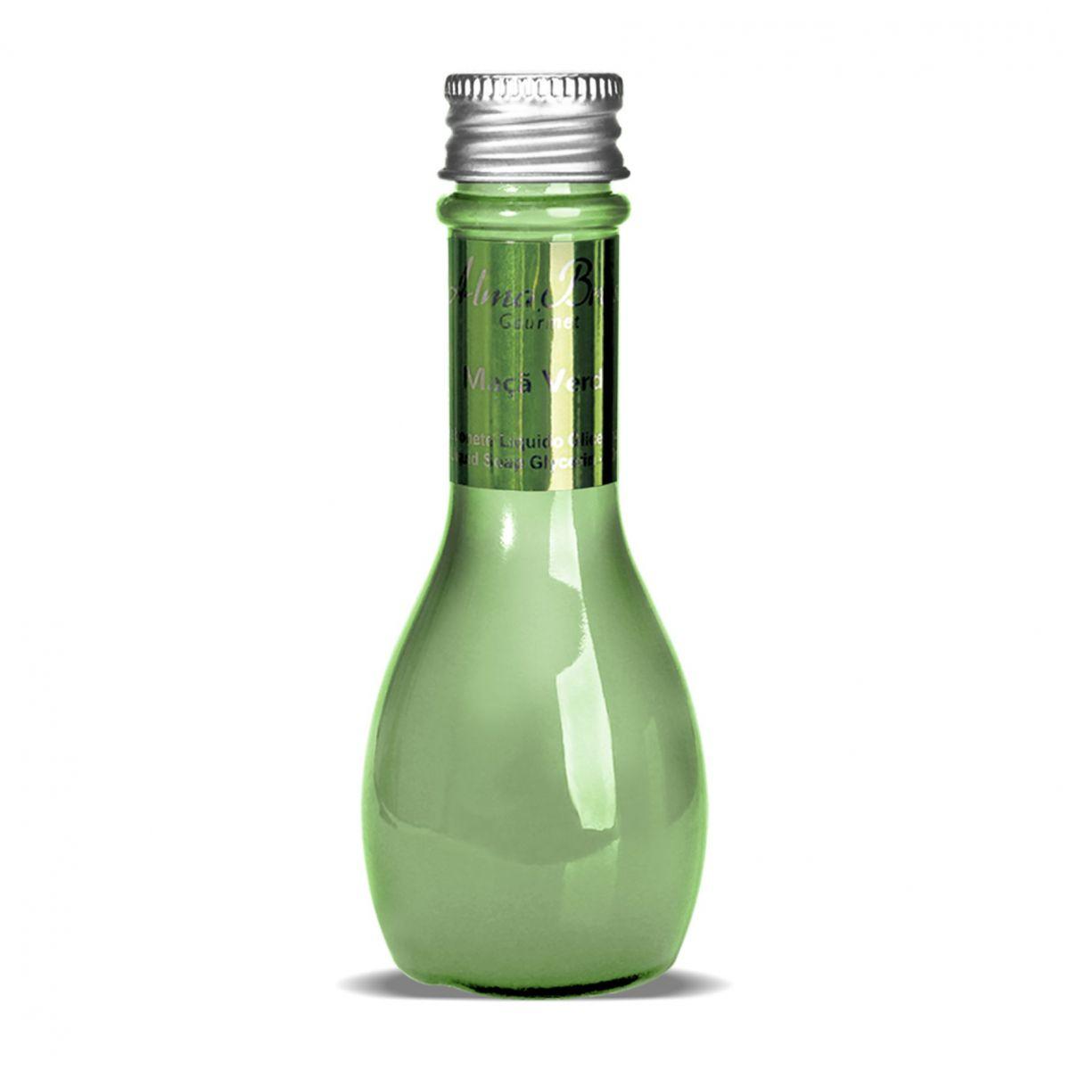 Sabonete Líquido Glicerinado Gourmet Maca Verde 60ml  - Alma Brasil Cosméticos