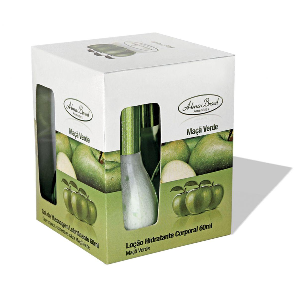 Kit Gourmet Maça Verde  - Alma Brasil Cosméticos