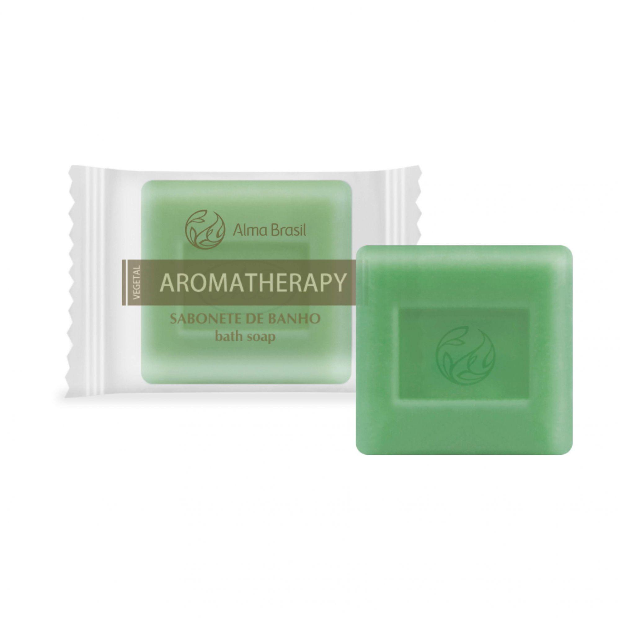 Sabonete 100% vegetal Aromatherapy 80g  - Alma Brasil Cosméticos