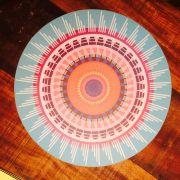 Kit 12 Sousplat de Papel Luxo - Mandala