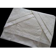 Roupa de Cama 250 fios Lírio branco