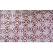 Toalha de Mesa Crochet com Linho branco