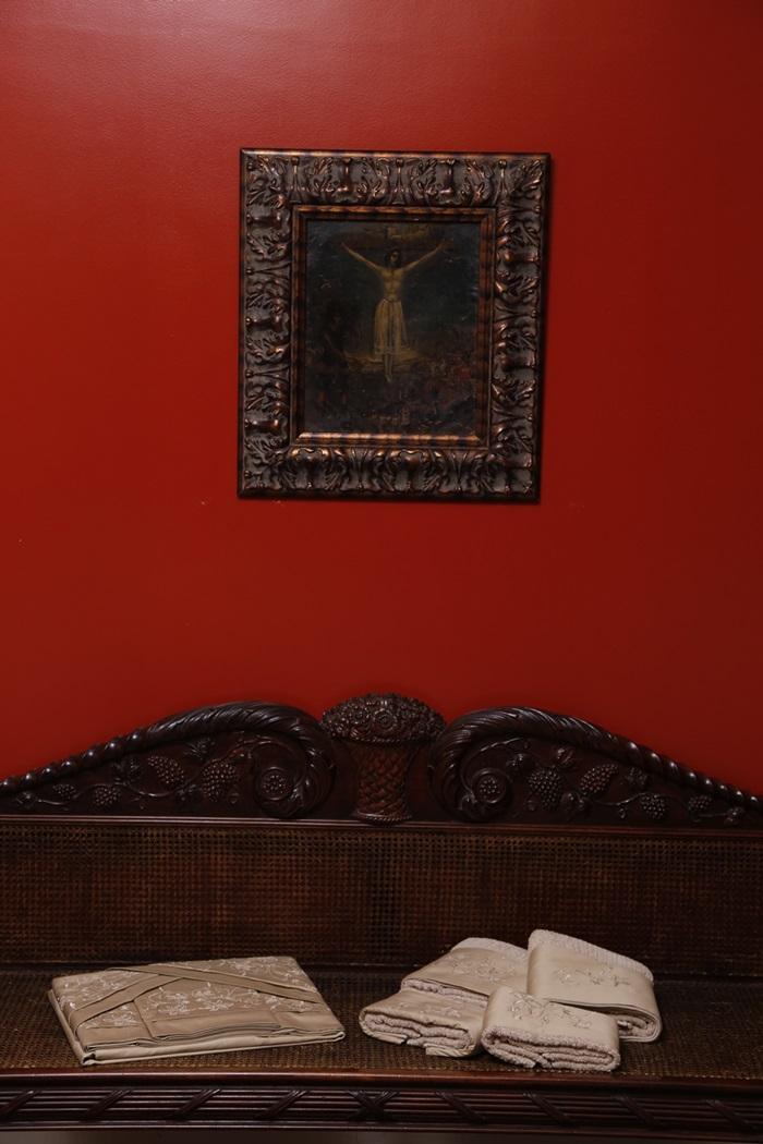 Jogo de Roupa de Cama e Toalha de Banho Suite Bordado Lírio 250 fios  - Helô Reis Store