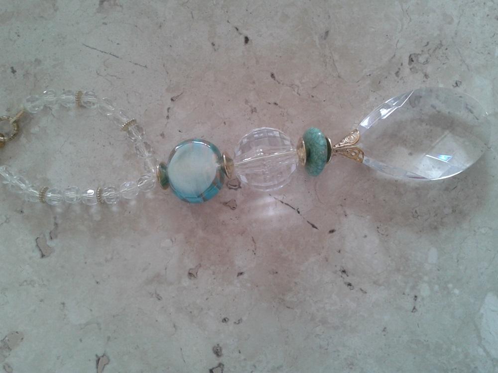 Pingente Porta Luxo: Cristal  - Helô Reis