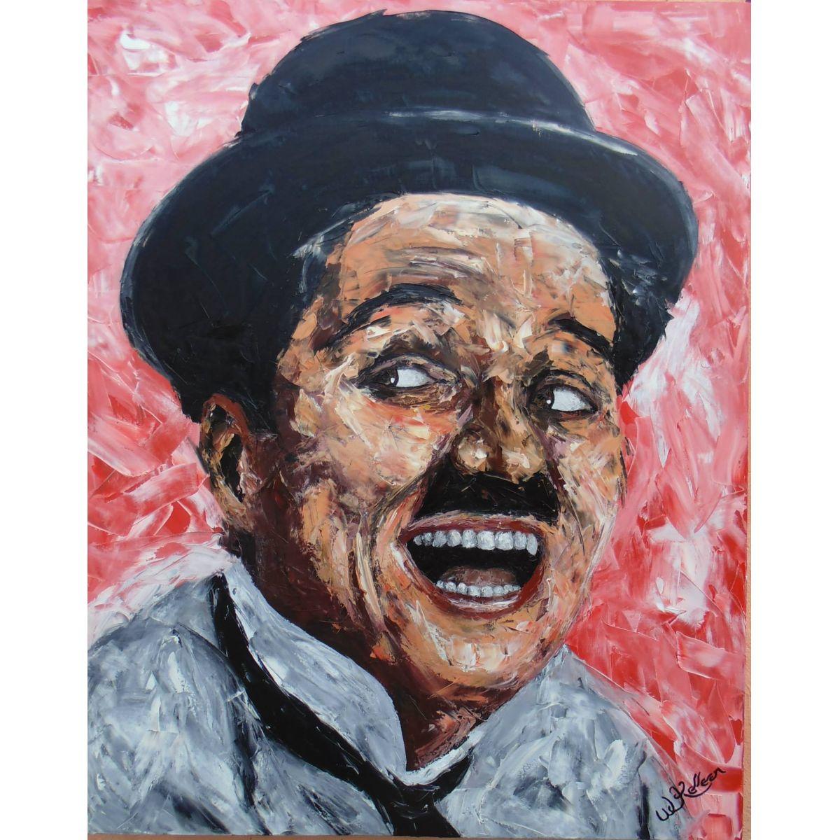 Tela Charles Chaplin  - Helô Reis Store
