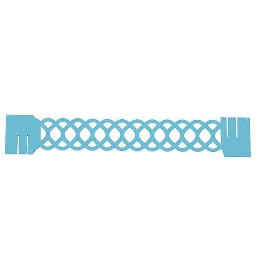 kit 6 Sousplat + 6 Porta Guardanapo de Papel Luxo - Wave Tiffany   - Helô Reis