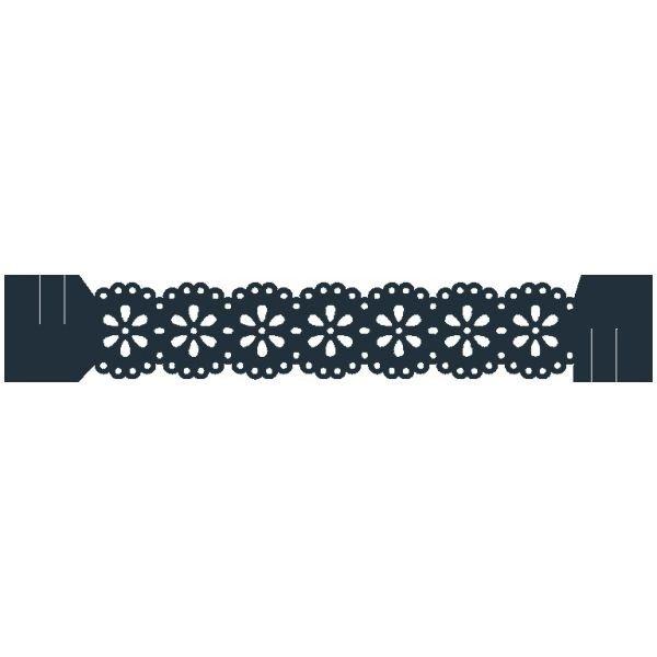 Kit 6 Sousplat + 6 Porta Guardanapo de Papel Luxo - Blossom Navy  - Helô Reis