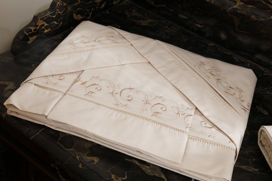 Roupa de Cama 250 fios Arabesco savana  - Helô Reis Store