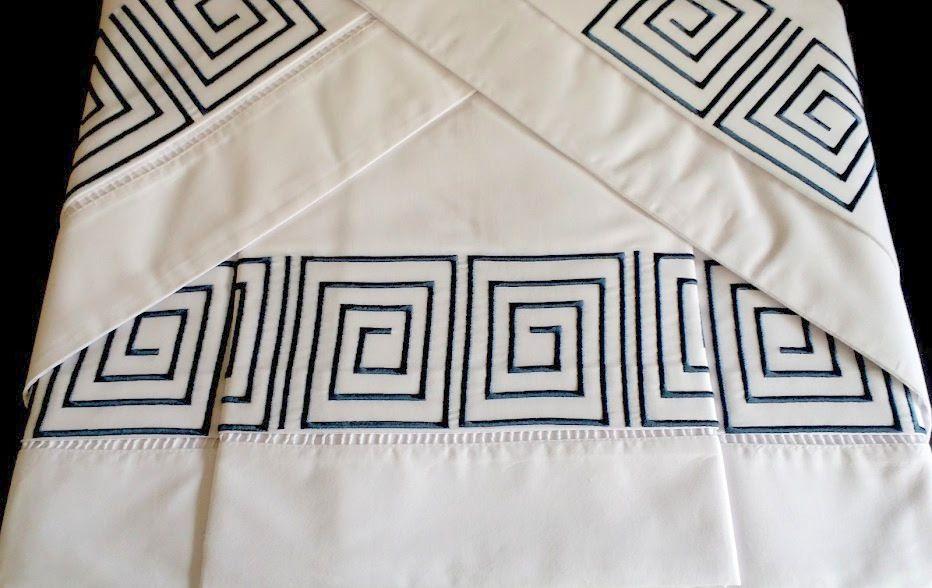 Roupa de Cama 250 fios Labirinto  - Helô Reis Store