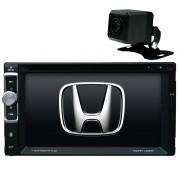 Central Multimidia Honda City DX 2010 11 12 13 14 GPS TV Camera Espelhamento BT USb Sd