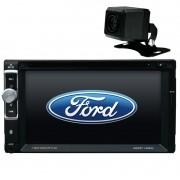 Central Multimidia Ford KA 2008 09 10 11 12 GPS TV Camera Usb Sd BT Espelhamento