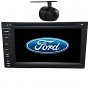 Central Multimidia Ford Fiesta 2003 04 05 06 07 08 09 10 11 12 13 14 GPS TV Camera Usb Sd BT Espelhamento