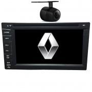 Central Multimidia Renault Megane TV Digital GPS Usb Camera Espelhamento