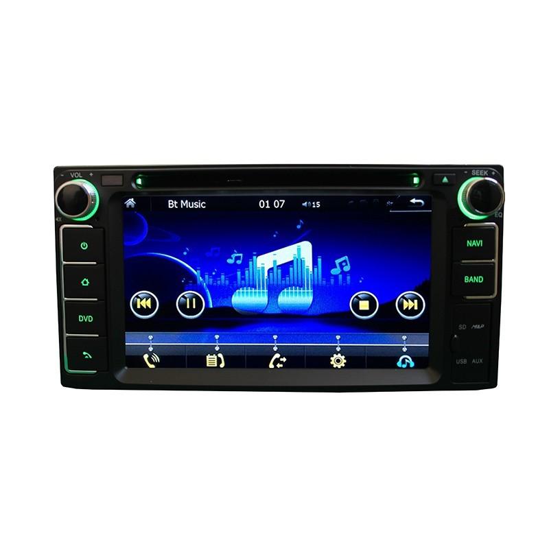 Central Multimídia Hilux Sw4 SR  2012 13 14  15 GPS Tv USB Sd BT Camera Espelhamento  - MARGI PARTS