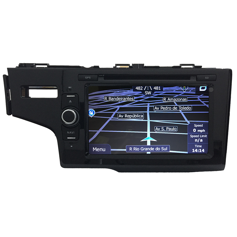 Central Multimidia Honda Fit 2014 a 2017 GPS TV Digital PhoneLink  - MARGI PARTS