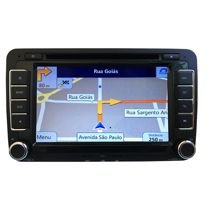 Central Multimídia Gol Voyage Saveiro G7 Gps Tv Câmera Usb Sd Espelhamento - MARGI PARTS