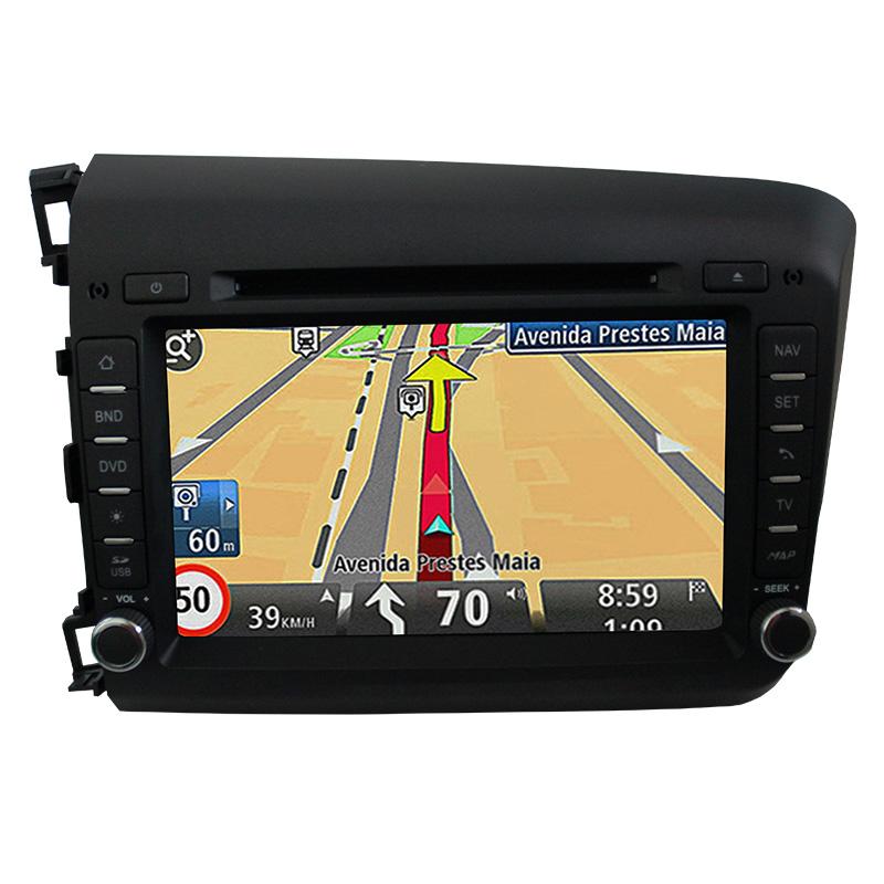 Central Multimidia Honda Civic 2015 2016 GPS TV Camera Usb Sd BT  Espelhamento   - MARGI PARTS