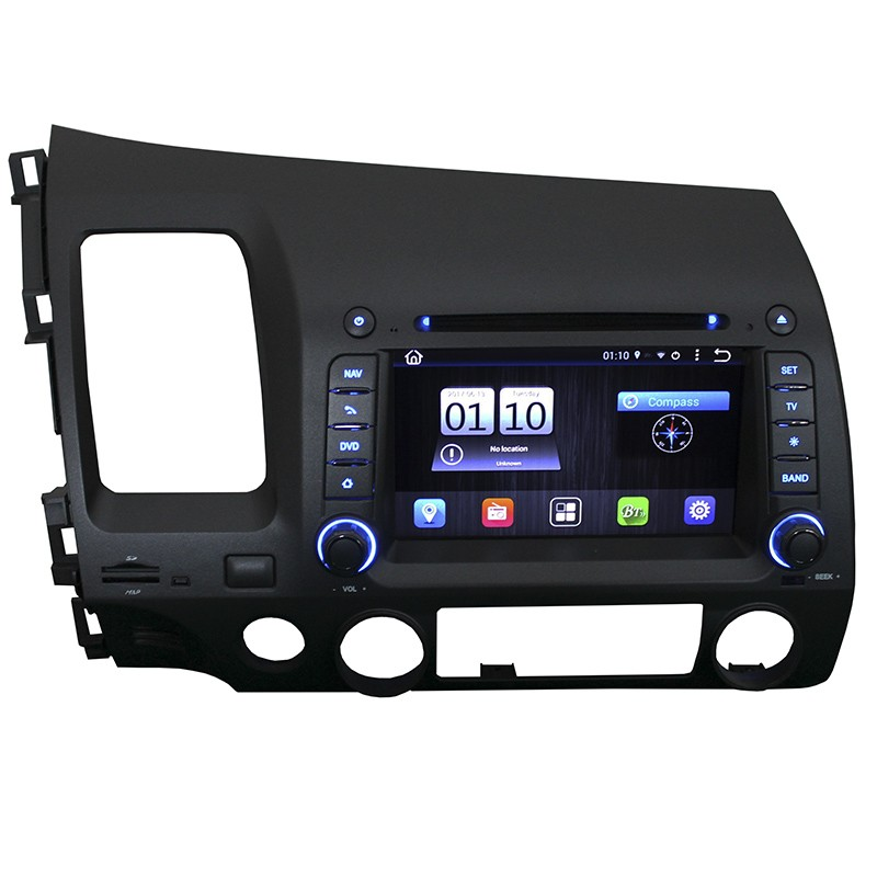 Central Multimidia Android Civic 2007/2011 Tv Digital Gps Espelhamento   - MARGI PARTS