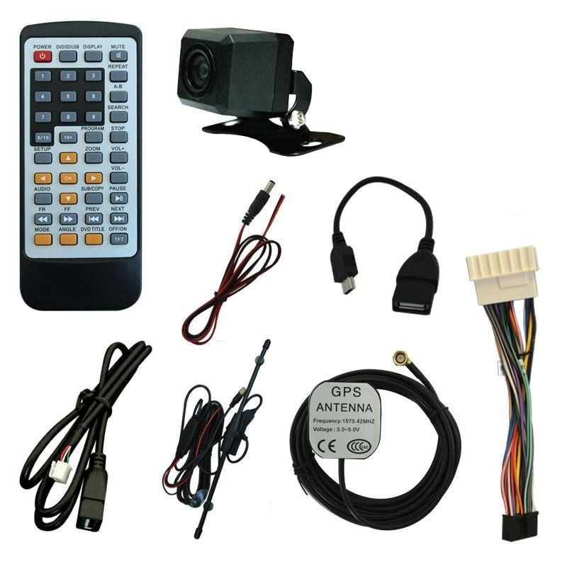 Central Multimidia Santa Fe Tv Gps Usb Sd Espelhamento Camera Bluetooth  - MARGI PARTS