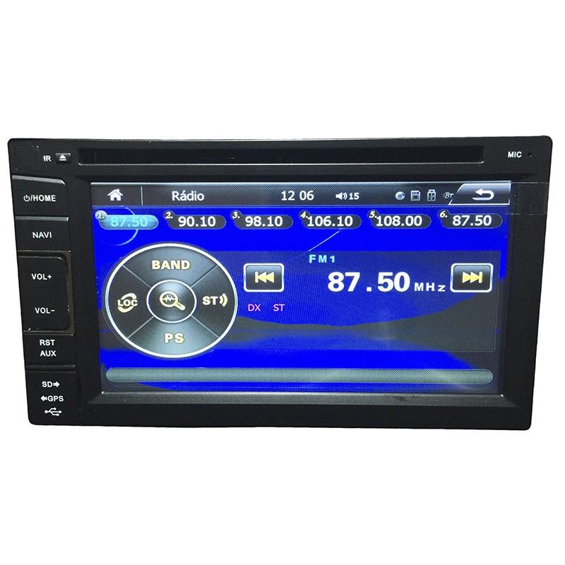 Central Multimidia Honda Fit 2003 04  05 06 07 08 GPS TV Usb Sd Camera BT Espelhamento  - MARGI PARTS