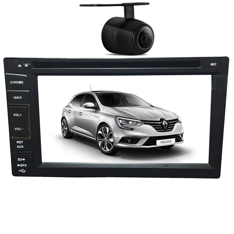 Central Multimidia Renault Megane TV Digital GPS Usb Camera Espelhamento  - MARGI PARTS