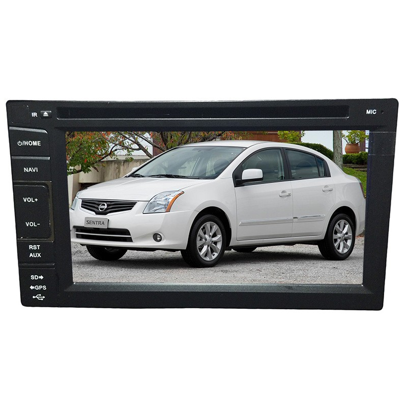 Central Multimidia Sentra 2007 2008 2009 2010 2011 2012 2013 GPS TV Digital PhoneLink  - MARGI PARTS
