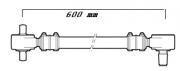 Barra de Reação Ônibus  Scania K112