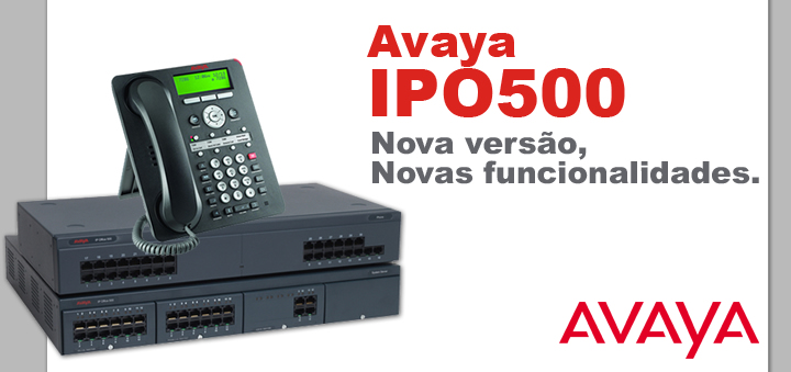 AVAYA PBX IP IPO500 - Hope Tech Telecomunicações