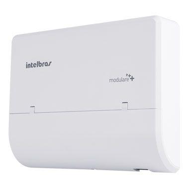 Central PABX Intelbras - Modulare Mais - Até 4 linhas, 12 ramais e 5 ramais DECT - Hope Tech Telecomunicações
