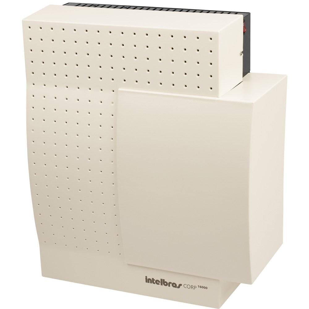 Central PABX Intelbras - Corp 16000 - Até 16 troncos analógicos e 64 ramais - Hope Tech Telecomunicações