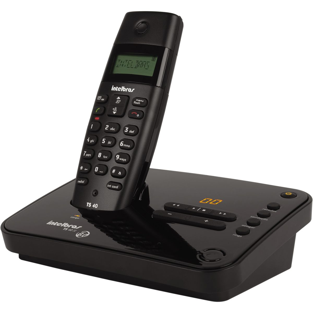 Telefone Intelbras TS 40 SE sem fio - Hope Tech Telecomunicações