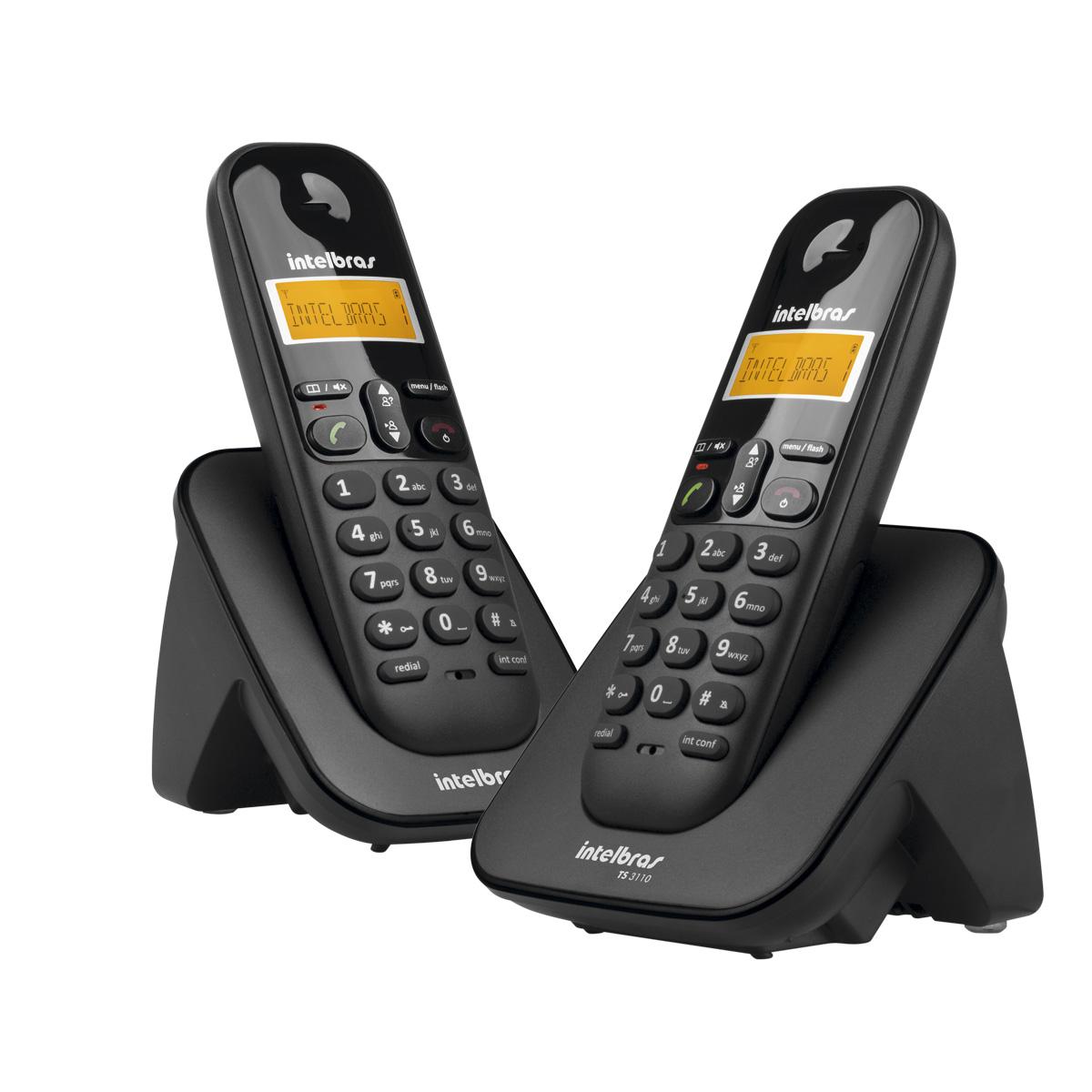 Telefone Intelbras TS 3112 sem fio - Hope Tech Telecomunicações