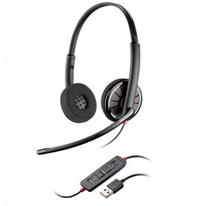 Blackwire C320 Headset USB - Hope Tech Telecomunicações