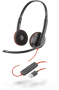 Headset Plantronics Blackwire C3220 - Hope Tech Telecomunicações