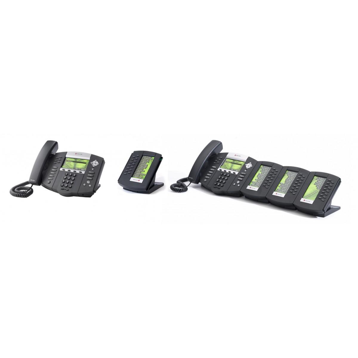 Aparelho de Telefone IP 670 SIP, PoE, HD Voice Polycom - Hope Tech Telecomunicações
