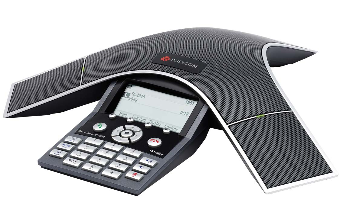 Audioconferência IP SoundStation IP 7000 Polycom  - Hope Tech Telecomunicações