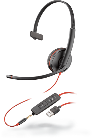 Headset Plantronics C3215 - Hope Tech Telecomunicações