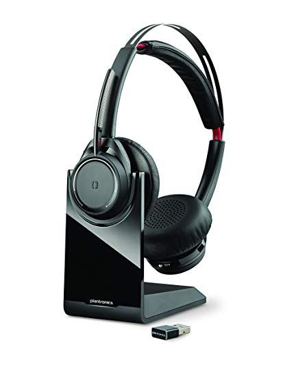 HEADSET VOYAGER FOCUS UC B825 M PLANTRONICS - Hope Tech Telecomunicações