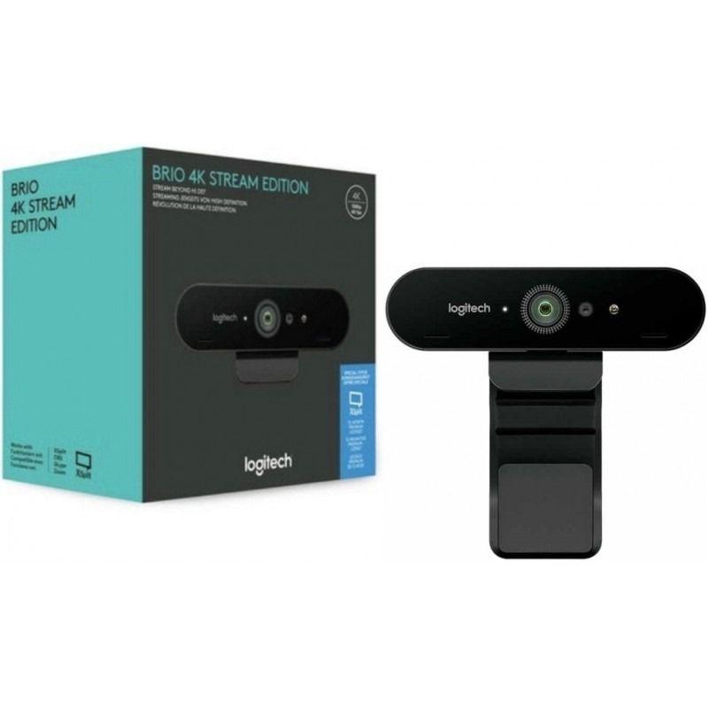 Webcam Brio Logitech 4K - Hope Tech Telecomunicações
