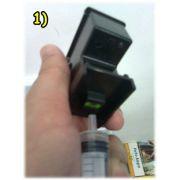 Snap Fill Pressurizador para Recarga Cartuchos - HP 21, 22, 27, 28, 56, 57, 60, 74, 75, 76, 77, 92, 93, 94,122  e outros - Market-Ink Plotter & InkJet